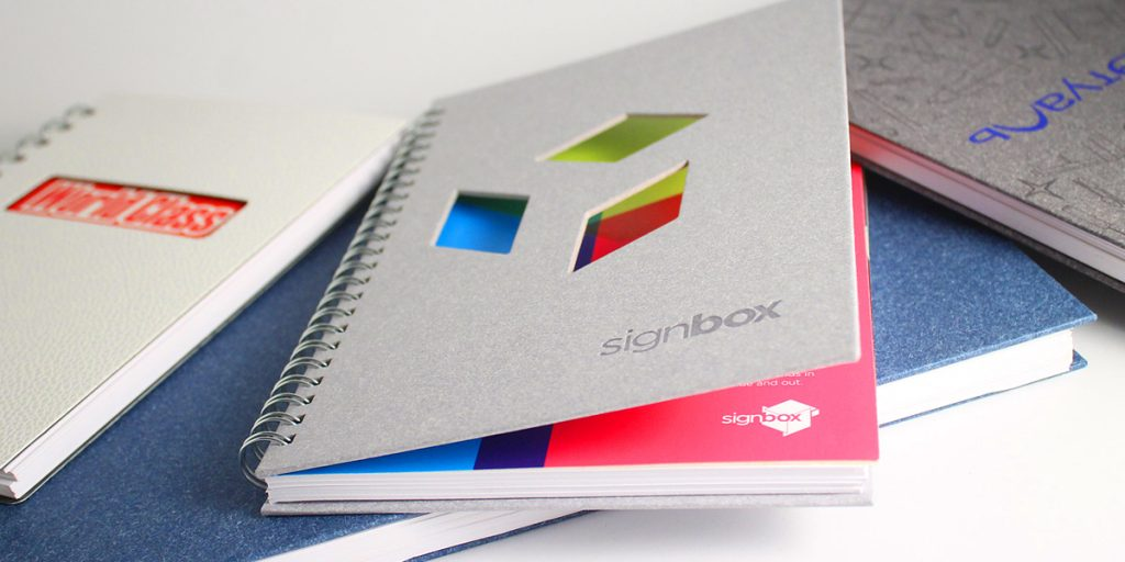 corporate notebooks